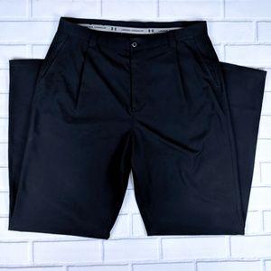 Under Armour Showdown Size 34R Golf Pants Pleated